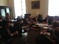 imagem: Reunião pela aprovação do salário mínimo regional